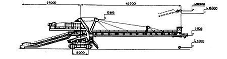 Reconstruction of Crawler Conveyers